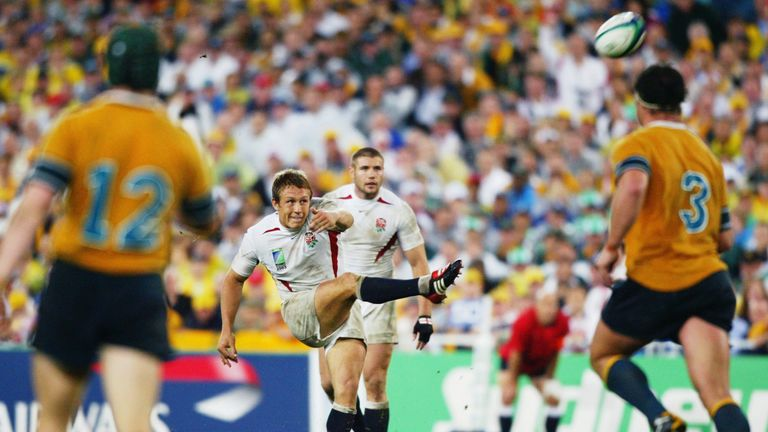 Jonny Wilkinson was the star man for England in 2003