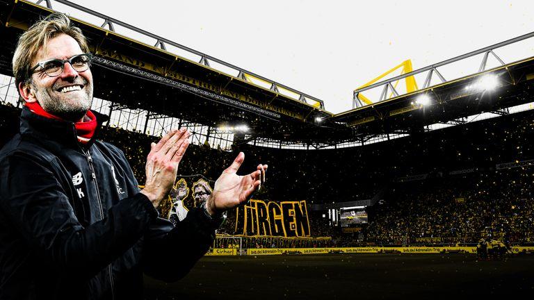 Jurgen Klopp had a huge impact in his seven years with Borussia Dortmund