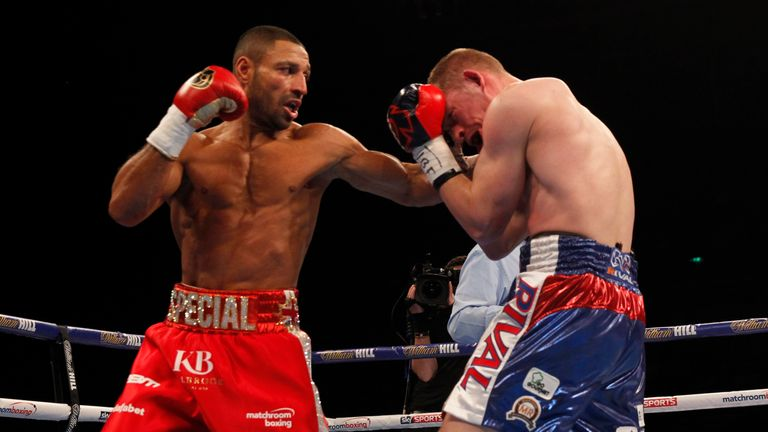 Kell Brook fulfilled his last mandatory defence by stopping Kevin Bizier in March