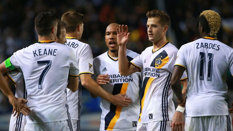 LA Galaxy will be looking for another win over the San Jose Earthquakes in the MLS