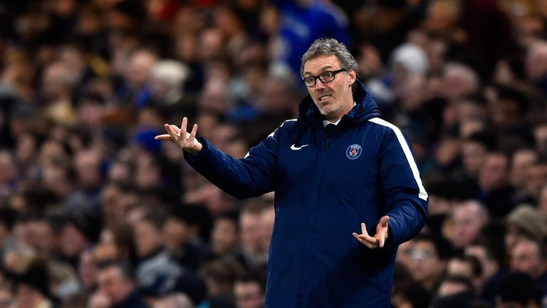 Laurent Blanc signed a new two-year deal at PSG in February