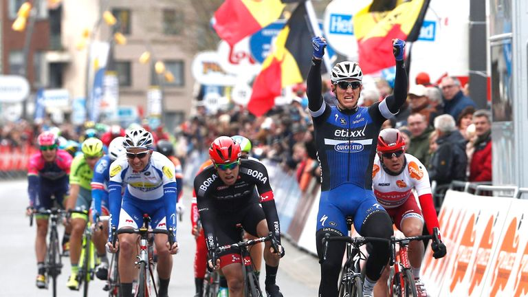 Marcel Kittel won the road race stage earlier in the day