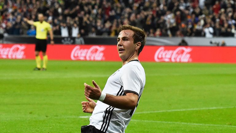 Gotze scored winning goal for Germany in 2014 World Cup final