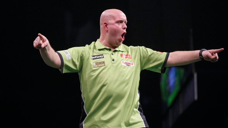 Michael van Gerwen is German Masters champion for a second time