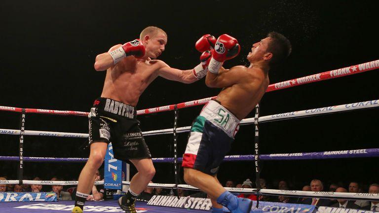 Paul Butler overcame a tough challenge from Sebastian Sanchez