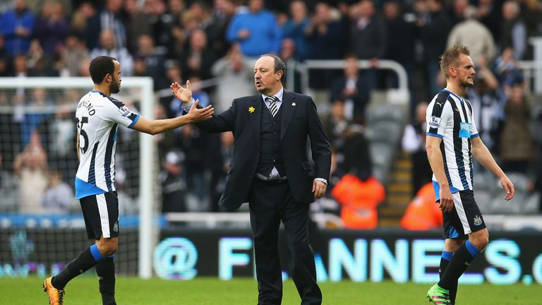 Rafa Benitez is yet to win as manager of Newcastle and Merse can't see a victory coming this weekend
