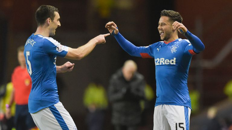 Harry Forrester scored as Rangers' beat Raith on Tuesday to move to within five wins of promotion