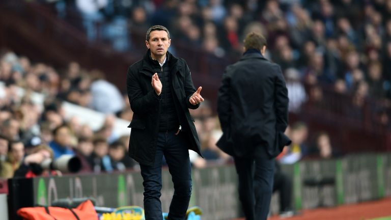 Remi Garde left Aston Villa by mutual consent after four months in charge