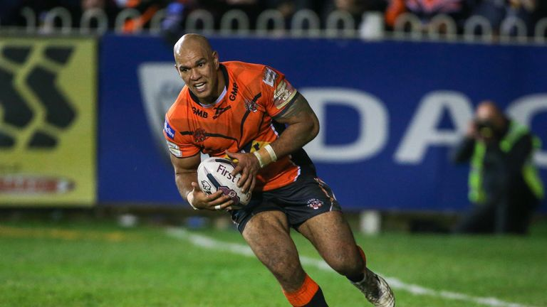 Jake Webster was key in Solomona's record breaking try