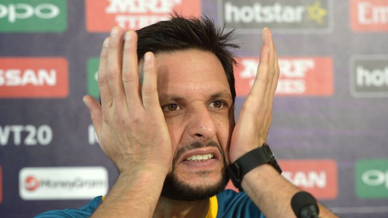 Afridi was heavily criticised after Pakistan's exit