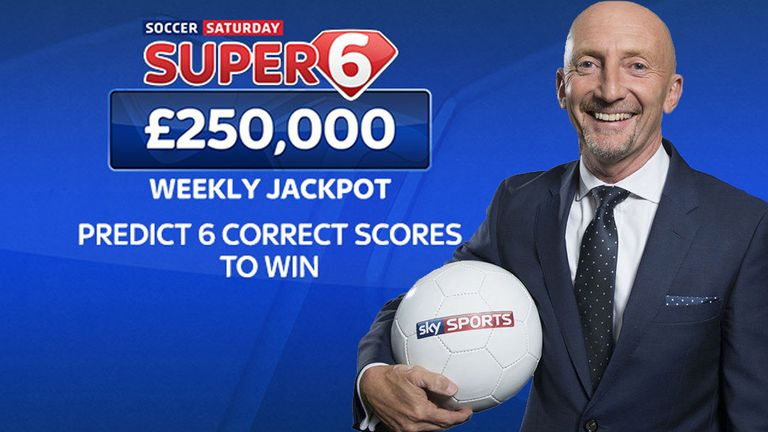 Guess six correct scores and you could win £250,000