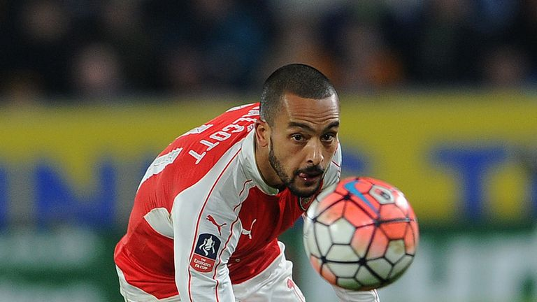 Theo Walcott faces an uncertain future at Arsenal after falling out of favour this season