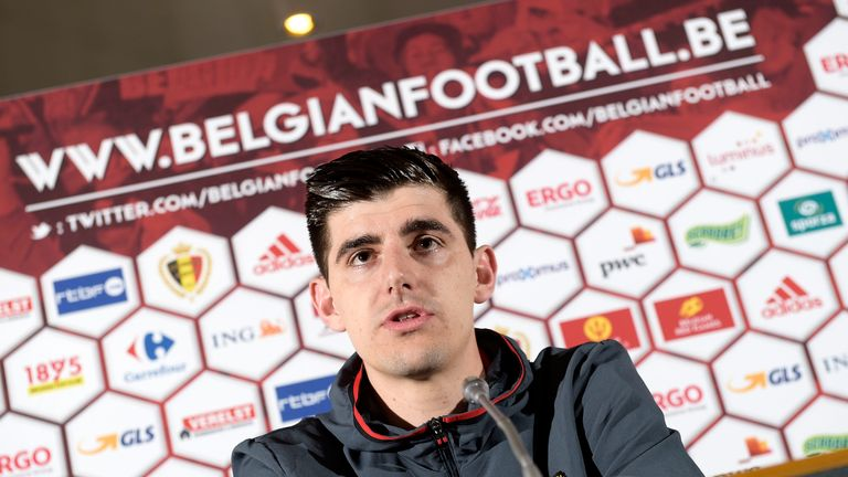 Courtois says Chelsea's poor season has 'changed' him