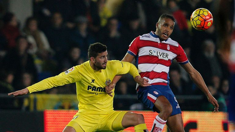 Youssef El Arabi scored a hat-trick for Granada