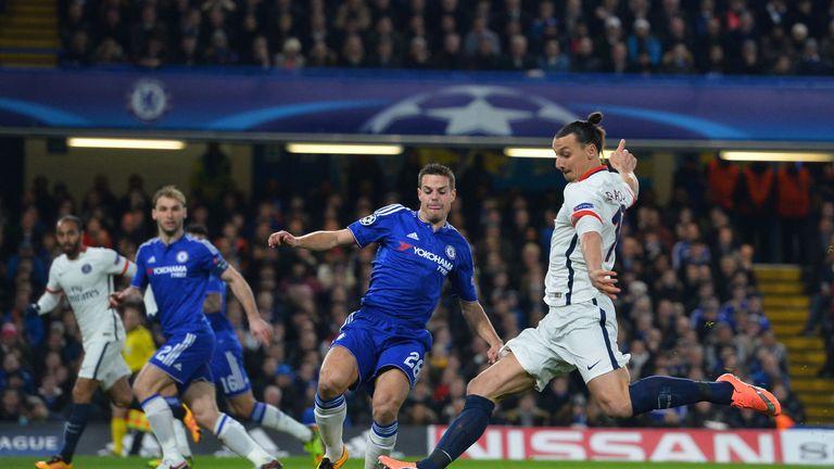 Ibrahimovic scored in both legs of PSG's win over Chelsea