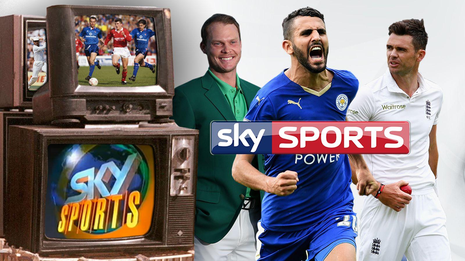 Sky Sports has changed way we enjoy sport since launch in 1991
