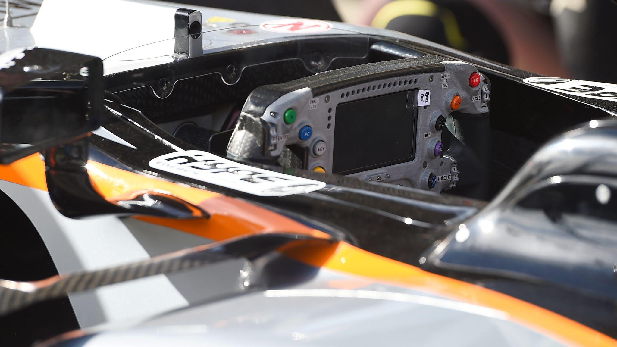 Decoding F1 steering wheels in 2016 | F1 News