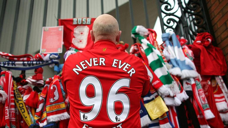 The Hillsborough Family Support Group was due to hold its last memorial service at Anfield on Wednesday