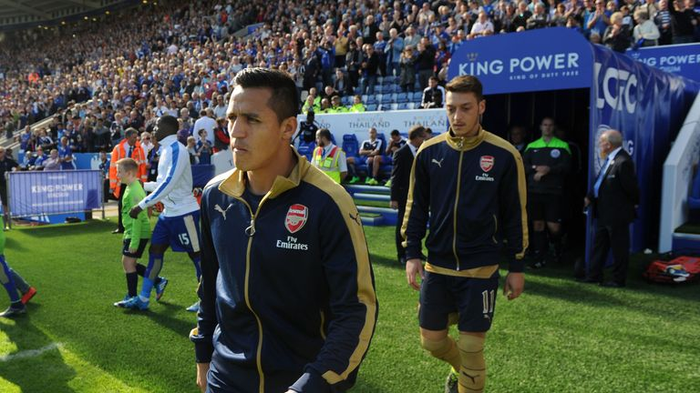 Alexis Sanchez and Mesut Ozil are tied down at Arsenal until 2018