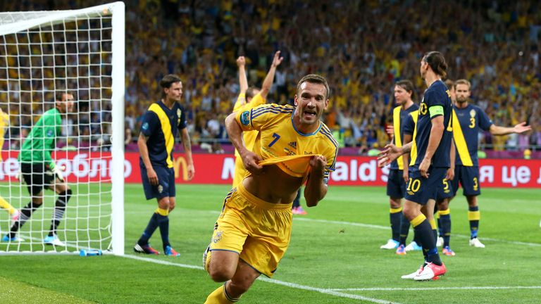Shevchenko is Ukraine's record goalscorer