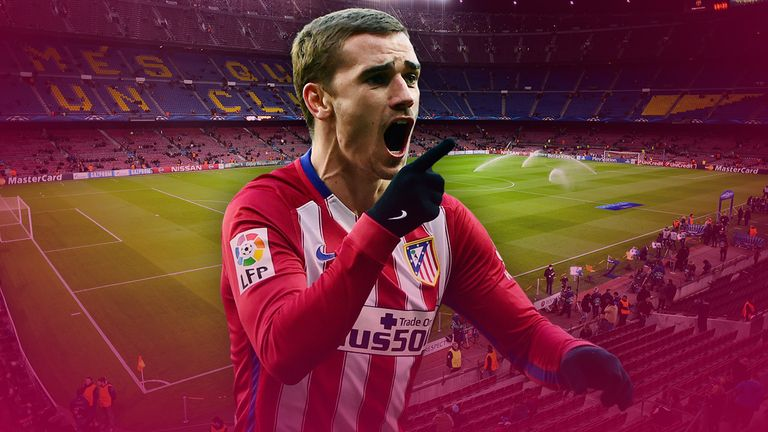 Antoine Griezmann was the man who got the goals that eliminated Barcelona