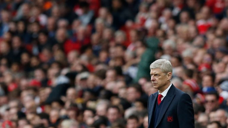 Wenger made a passionate defence of his players and accused Arsenal's critics of having
