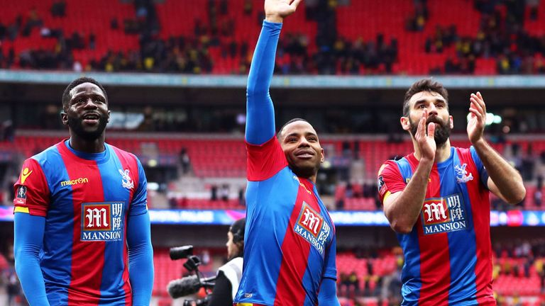 Crystal Palace face Manchester United in the FA Cup final