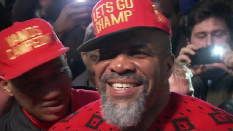 Shannon Briggs will be on Haye's undercard on Saturday night