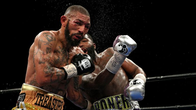 Theophane fell short in his first crack at a world title against Broner