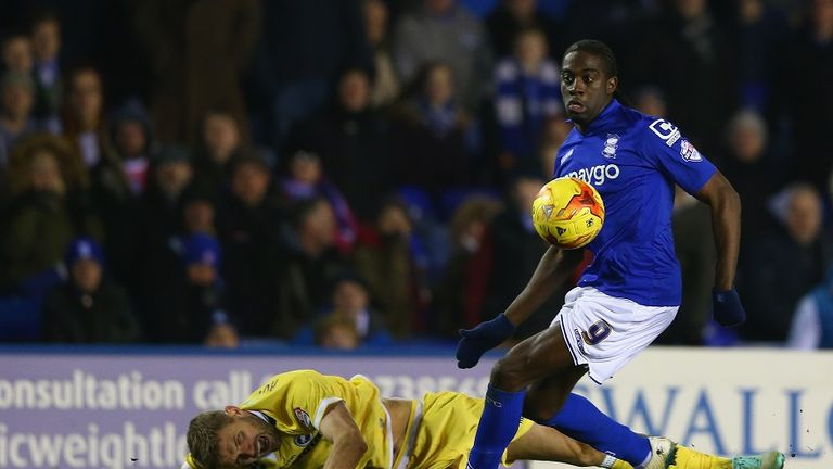 Clayton Donaldson scored for Birmingham City.