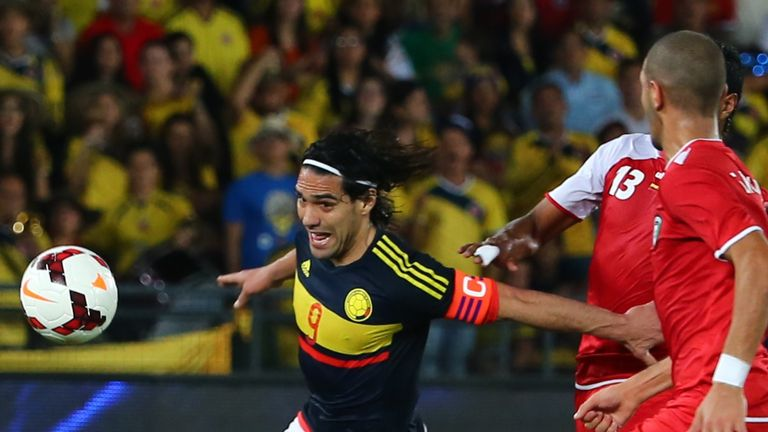 Falcao is keen on a tournament double with Colombia this summer