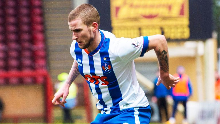 Craig Slater: pictured in action for Kilmarnock
