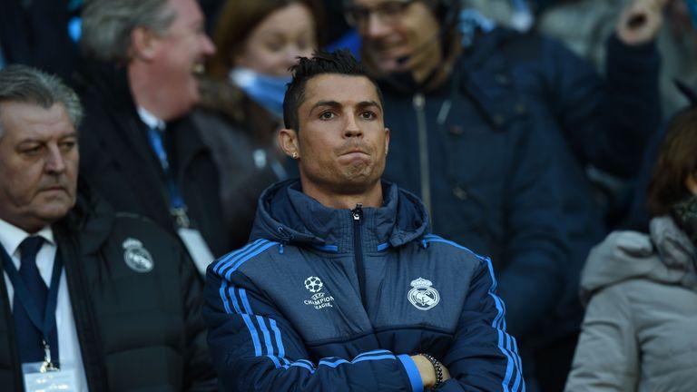 Cristiano Ronaldo and Karim Benzema were both missing for Real Madrid through injury