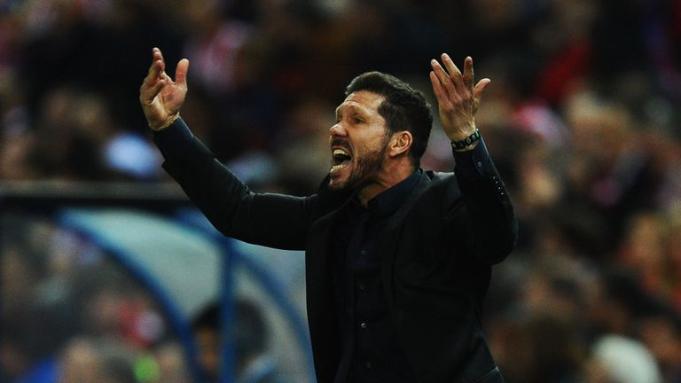 Diego Simeone's Atletico face Madrid rivals Real on Saturday in Milan
