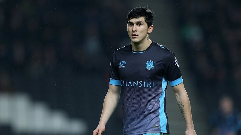 Sheffield Wednesday forward Fernando Forestieri has been named PFA Fans' Player of the Month for April in the Championship