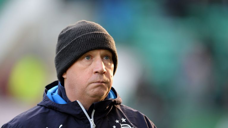 Kenny McDowall lost his first match as Rangers caretaker manager