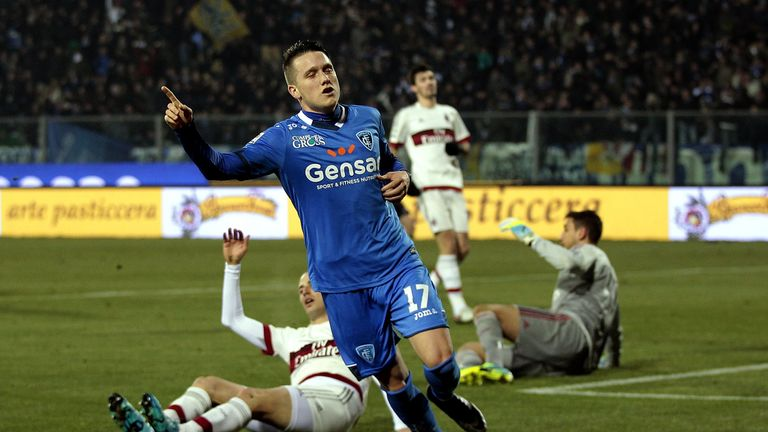 Zielinski has impressed while on loan with Empoli