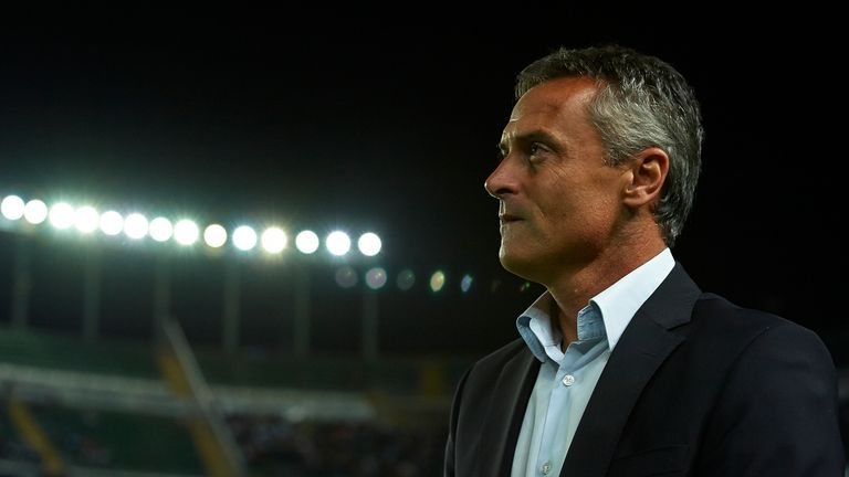 Fran Escriba has been relieved of his duties at Getafe nine months after his appointment