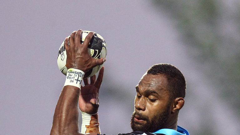 Leone Nakarawa was a hat-trick hero as Glasgow ran in 10-tries against Zebre