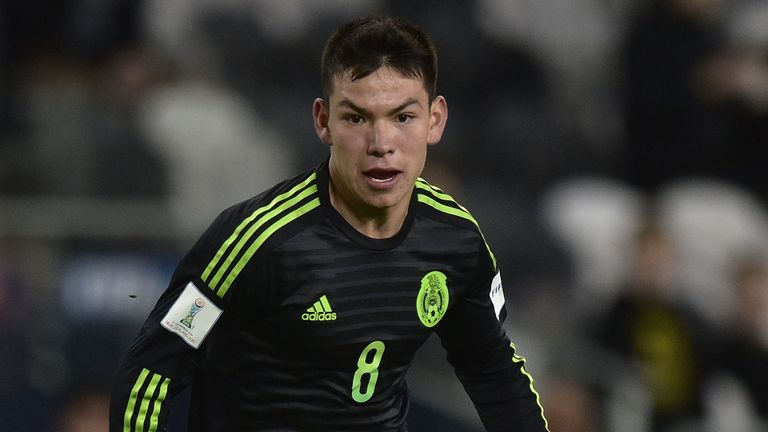 Hirving Lozano is unaware of any concrete interest from Manchester United