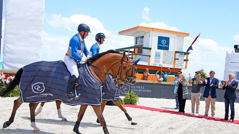 Global Champions League is a new equestrian event