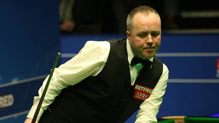 John Higgins was another big name to go out