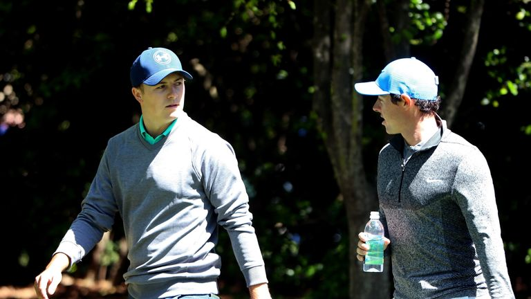 Jordan Spieth and Rory McIlroy have been grouped together for the first two rounds of the Memorial tournament in Ohio this week