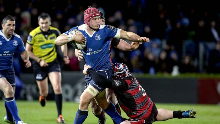 Leinster's Josh van der Flier's breakthrough season continues in earnest