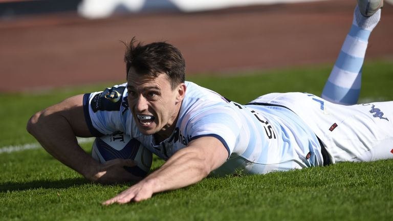 Racing Metro 92 wing Juan Imhoff is another superb player Argentina are currently without