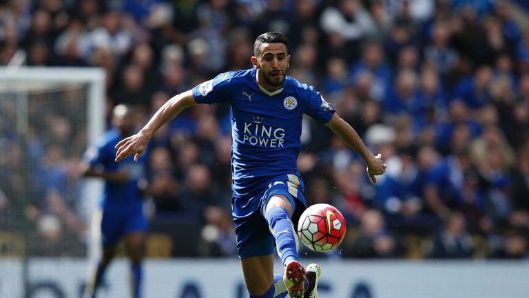 Wenger played down reports that Arsenal will make a move for Riyad Mahrez in the summer