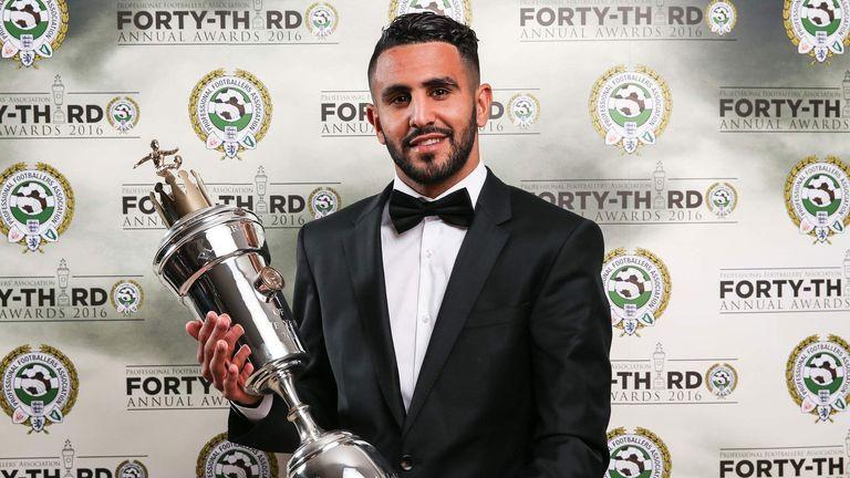 Riyad Mahrez won the PFA Player of the Year award for his efforts