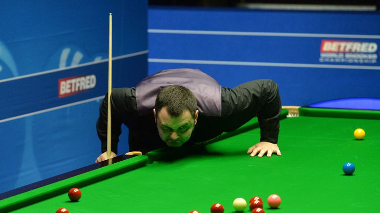 Stephen Maguire shocked reigning world champion Mark Williams