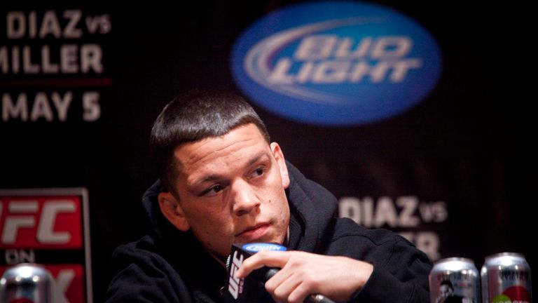 Diaz's team was furious that McGregor turned up 30 minutes late
