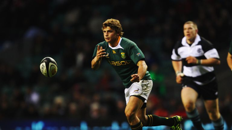 Pat Lambie is back from a concussion and back in the South Africa squad